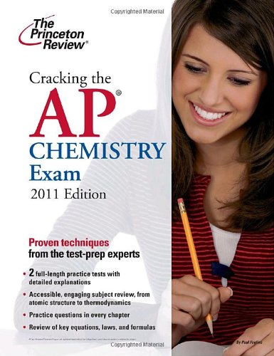 Cracking the AP Chemistry Exam 9780375429897