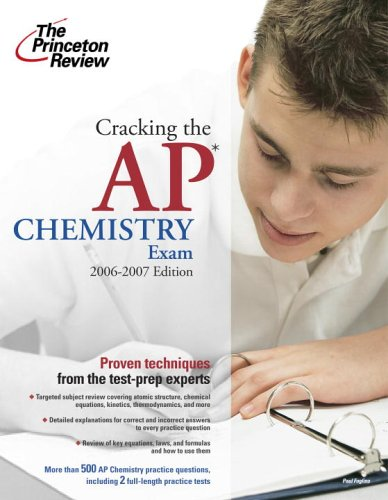 Cracking the AP Chemistry Exam 9780375765278