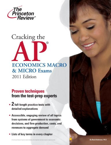Cracking the AP Economics Macro & Micro Exams 9780375429972