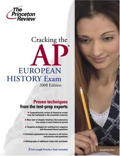 Cracking the AP European History Exam 9780375428456