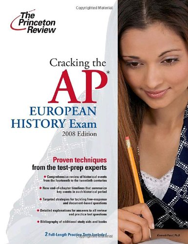 Cracking the AP European History Exam 9780375428913