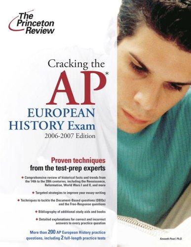Cracking the AP European History Exam 9780375765391