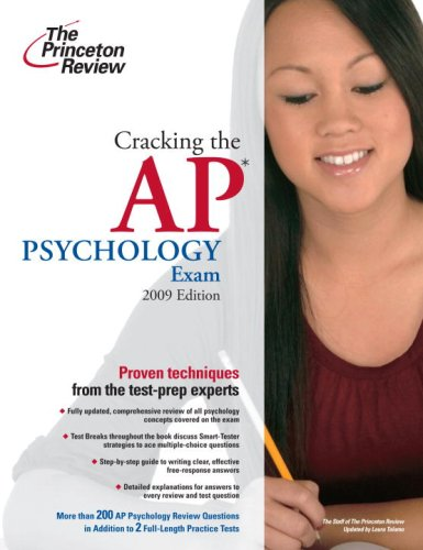 Cracking the AP Psychology Exam 9780375428944