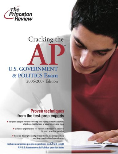 Cracking the AP U.S. Government and Politics Exam 9780375765322