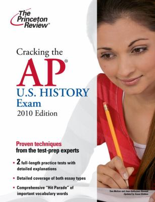 Cracking the AP U.S. History Exam 9780375429521
