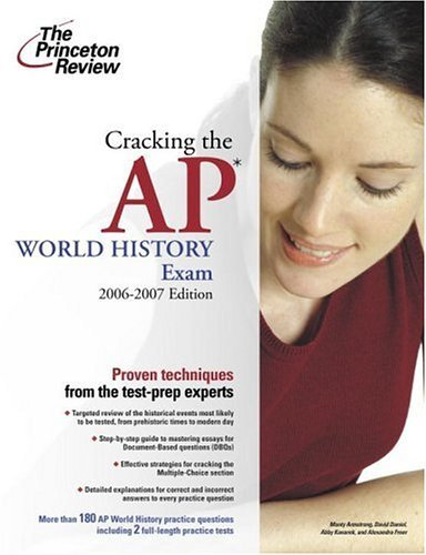 Cracking the AP World History Exam 9780375765346