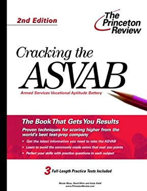 Cracking the ASVAB, 2nd Edition 9780375764301