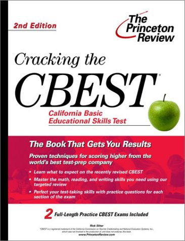 Cracking the CBEST, 2nd Edition 9780375762635