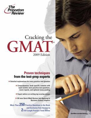 Cracking the GMAT 9780375428586