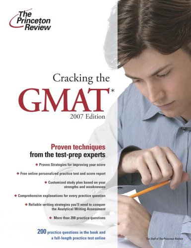 Cracking the GMAT 9780375765520