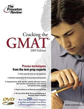 Cracking the GMAT [With DVD] 9780375428593