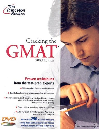 Cracking the GMAT [With DVD] 9780375766114