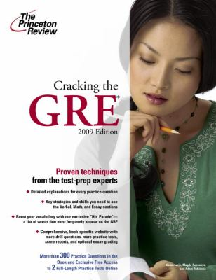 Cracking the GRE 9780375428630