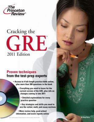 Cracking the GRE [With DVD] 9780375429781