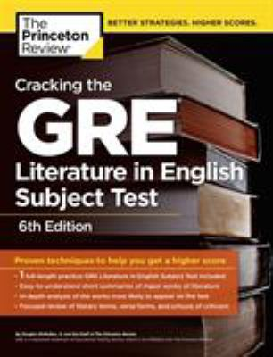 Cracking the GRE Literature in English Subject Test 9780375429712