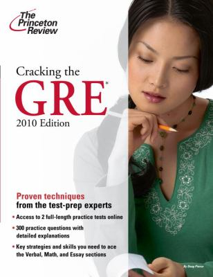 Cracking the GRE 9780375429323