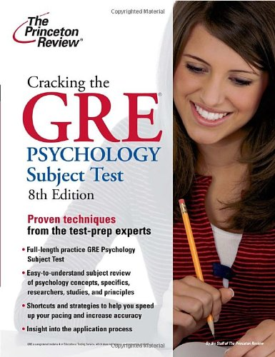 Cracking the GRE Psychology Subject Test 9780375429736