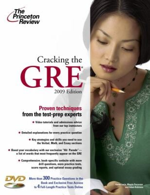 Cracking the GRE [With DVD] 9780375428647