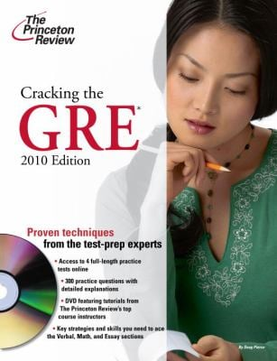 Cracking the GRE [With DVD] 9780375429330