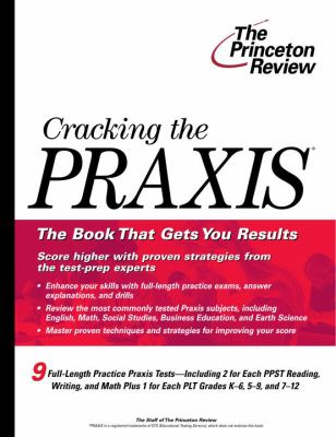 Cracking the Praxis 9780375764585