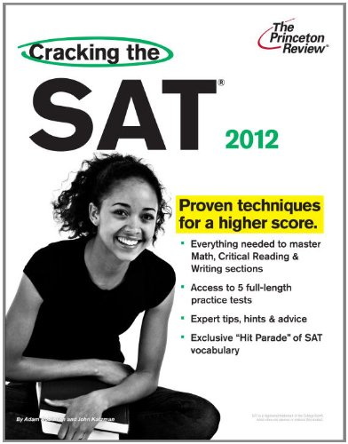 The Princeton Review Cracking the SAT 9780375428296