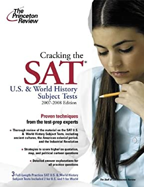 Cracking the SAT: U.S. and World History Subject Tests 9780375765919