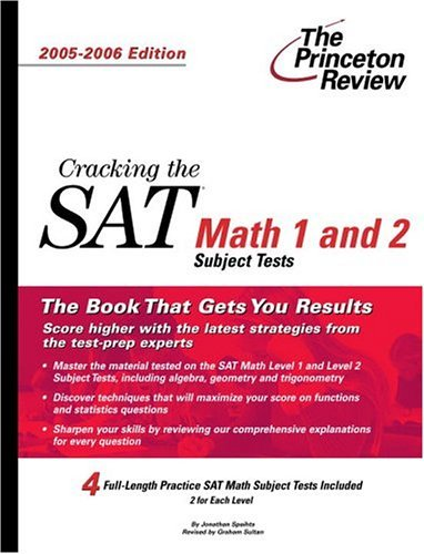 Cracking the SAT Math 1 and 2 Subject Tests 9780375764516