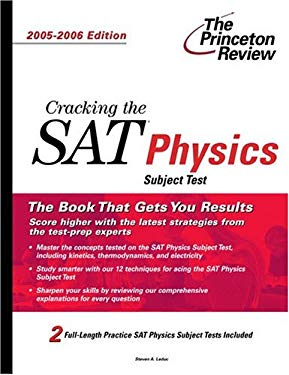 Cracking the SAT Physics Subject Test 9780375764523