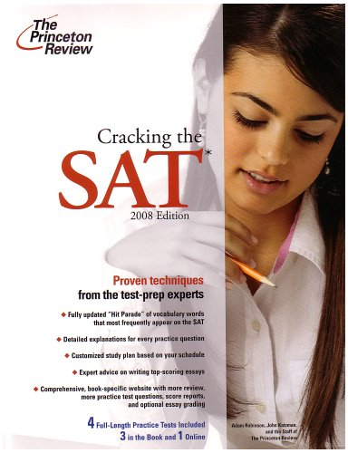 Cracking the SAT 9780375766060