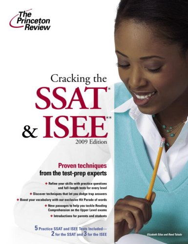 Cracking the SSAT & ISEE 9780375428753