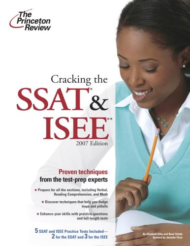 Cracking the SSAT and ISEE 9780375765490