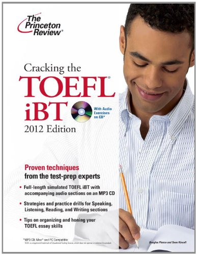The Princeton Review: Cracking the TOEFL iBT [With CD (Audio)] 9780375428234