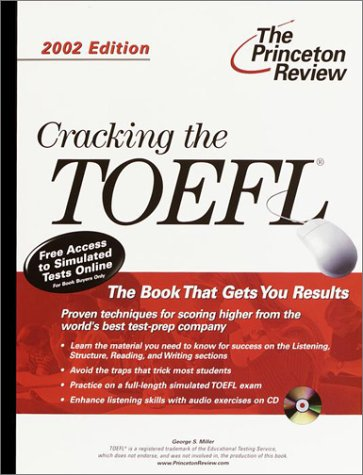 Cracking the TOEFL [With CDROM] 9780375762093