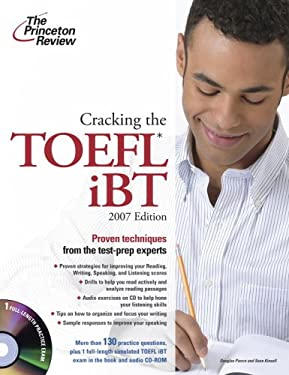 Cracking the TOEFL iBT [With CDROM] 9780375765568