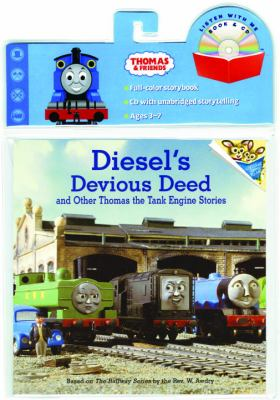 Diesel's Devious Deed Book & CD (Thomas & Friends) [With CD] 9780375834981