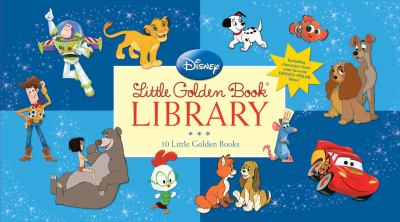 Disney Little Golden Book Library 9780375851520