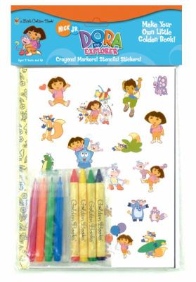 Dora the Explorer [With Stickers and Crayons and Markers and Stencils] 9780375838446