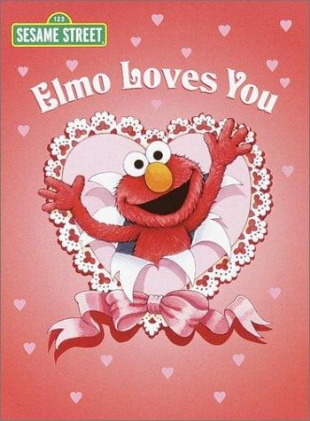 Elmo Loves You (Sesame Street) 9780375812088