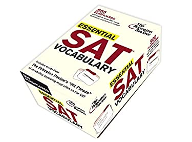 Essential SAT Vocabulary (Flashcards) 9780375429644
