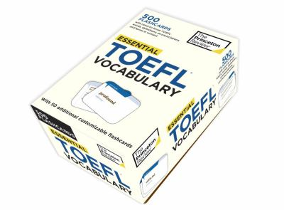 Essential TOEFL Vocabulary (Flashcards) 9780375429668