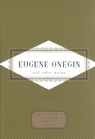 Eugene Onegin and Other Poems: And Other Poems [With Ribbon] 9780375406720