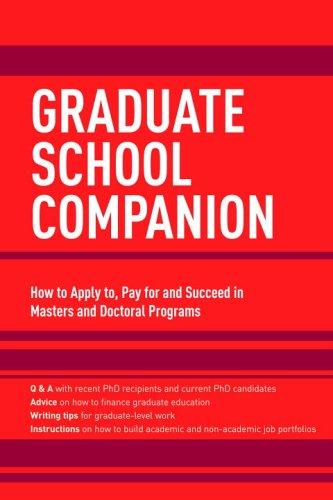 Graduate School Companion 9780375765742