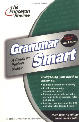 Grammar Smart, 2nd Edition 9780375762154