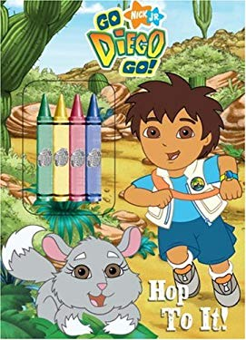Hop to It! [With 4 Chunky Crayons] 9780375835896