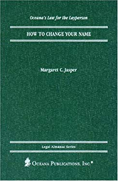How to Change Your Name 9780379113938