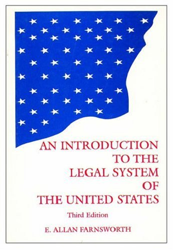 Introduction to the Legal System of the United States 9780379213737
