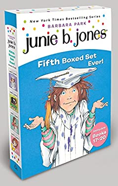 Junie B. Jones Fifth Boxed Set Ever! [With Collectible Stickers] 9780375855702