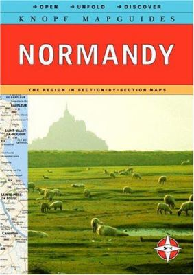 Knopf Mapguide: Normandy 9780375710469