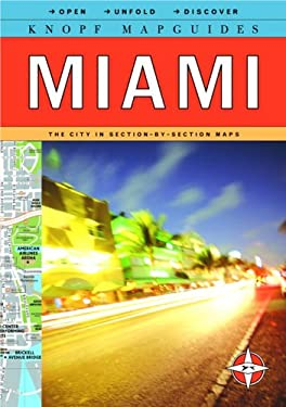 Knopf Mapguide: Miami 9780375710889