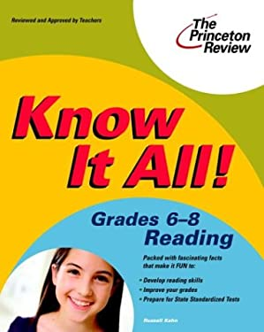Know It All! Grades 6-8 Reading 9780375763793